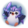 Season 2019 - Victorious Pengu - Diamond Emote