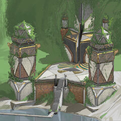 Blessed Isles Vault Concept 4 (by Riot Artist <a href=