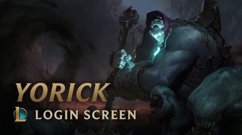 Yorick, der Hirte der verlorenen Seelen - Login Screen