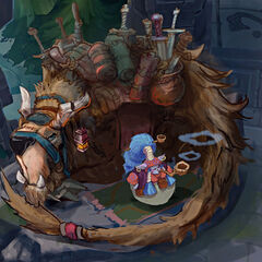 Summoner's Rift Update Shopkeeper Concept 12