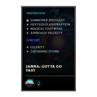 Personalized Rune Page