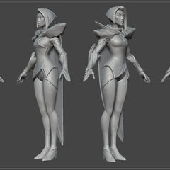 Fiora Update Model 3 (by Riot Artist <a href=