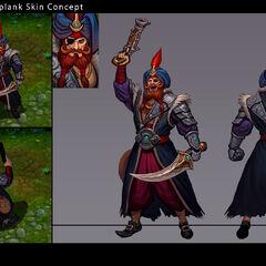 Sultan Gangplank Concept (by Riot Artist <a href=