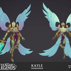 Kayle Update Model 1 (by Riot Artist <a href=