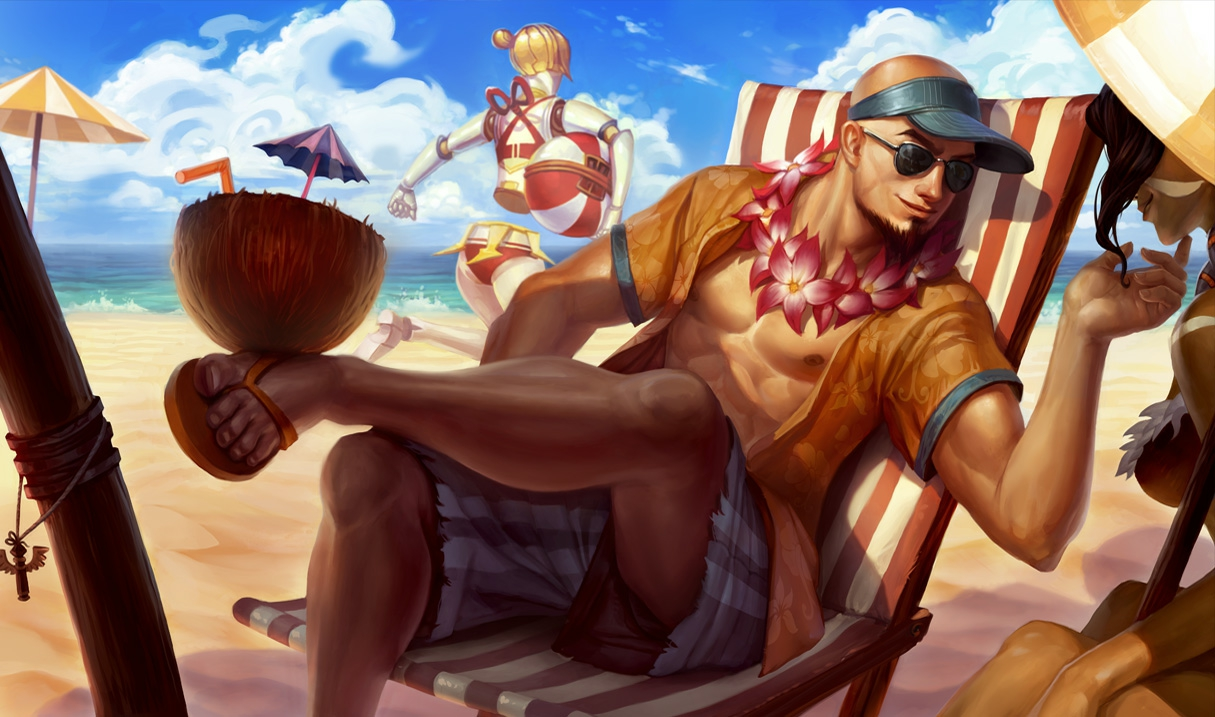 Lee Sin Poolparty-Lee Sin S