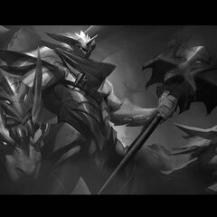Dragon Knight Mordekaiser Update Splash Concept 4 (by Riot Contracted Artist <a rel=