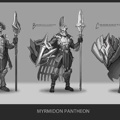 Myrmidon Pantheon Update Concept 1 (by Riot Artist <a href=