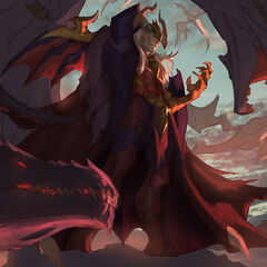 Dragon Master Swain Splash Concept 4 (by Riot Artist <a href=