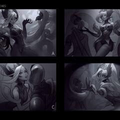Coven Zyra Splash Concept 1 (by Riot Artist <a href=