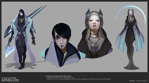 Aphelios Concept 25