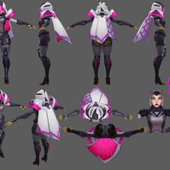 PROJECT: Irelia Model 1 (by Riot Artist <a href=