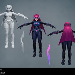 Infiltrator Irelia Update Model 1 (by Riot Artists <a href=