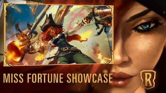 Miss Fortune Champion Showcase Gameplay - Legends of Runeterra