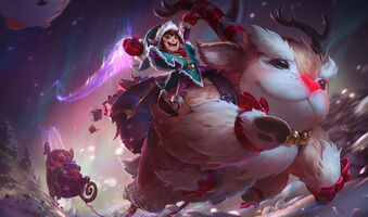 Nunu & Willump Elfen-Nunu & Rentier-Willump S