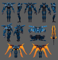 Aatrox Update Mecha Model 01
