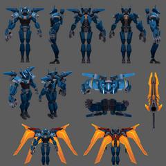 Mecha Aatrox Update Model