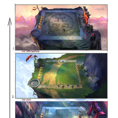 Journey Arena Concept (by Riot Artist <a href=