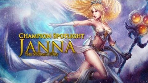 Champion Spotlight Janna, The Storms Fury