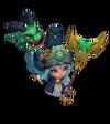 Lulu DragonTrainer (Turquoise)