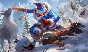 Master Yi SnowManYiSkin