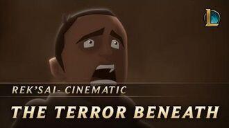 Rek'Sai The Terror Beneath New Champion Teaser - League of Legends