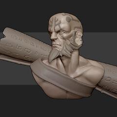 Ryze Statue Model 2 (by Riot Artist <a href=