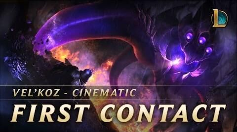 Vel'Koz First Contact New Champion Teaser - League of Legends