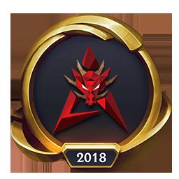 Worlds 2018 Hong Kong Attitude (Gold) Emote