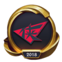 Worlds 2018 Rogue Warriors (Gold) Emote