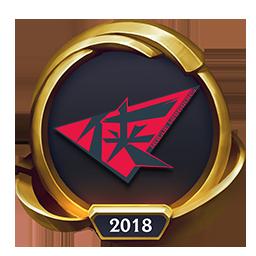 Worlds 2018 Rogue Warriors (Gold) Emote