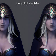 Ashe Cinematic Concept (by Riot Artist <a rel=