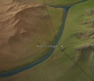 Killash Village map