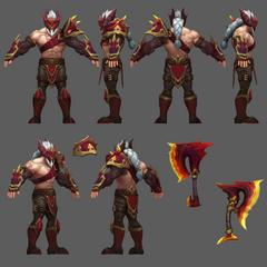 Dragonslayer Olaf Model