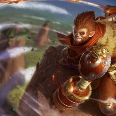 Pierwsza wersja drugiego portretu Wukonga
