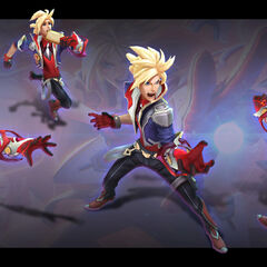 Battle Academia Ezreal Model 2 (by Riot Artist <a href=