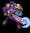 Graves BattleProfessor (Tanzanite)