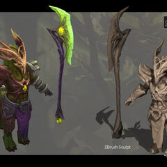 Elderwood Hecarim Model 1 (by Riot Artist <a href=