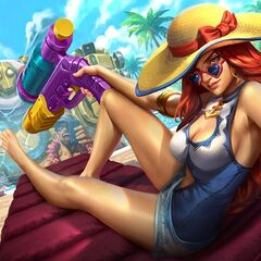 Pool Party Miss Fortune