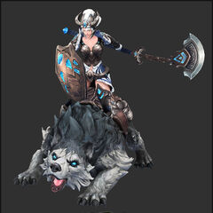 Queen Sejuani Model 2 (by Riot Artist <a href=