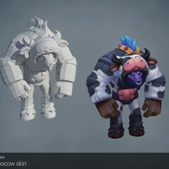 Moo Cow Alistar Model (by Riot Artists <a href=