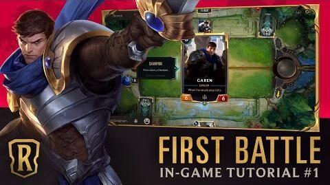 Blustering Malefactor Gets Demaci-Owned Legends of Runeterra Beginner Tutorial 1