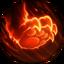 Cazador Implacable rune