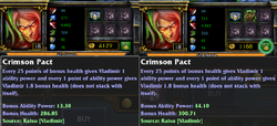 Crimson Pact w Zhonyas Ring