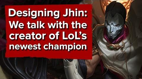 Designing Jhin We talk with the creator of the newest League of Legends champion