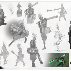 Ekko Concept 42 (by Riot Artist <a href=