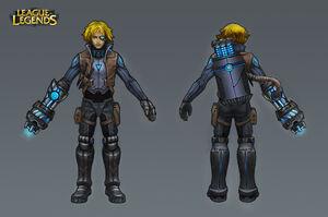 Ezreal Pulsefire Concept 01