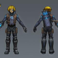 Pulsefire Ezreal Concept 1 (by Riot Artist <a href=