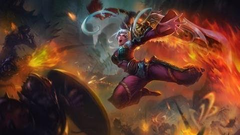 League of Legends - Riven Smocze Ostrze