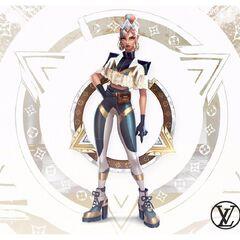 Prestige True Damage Qiyana Concept 4 (by Riot Artist <a rel=