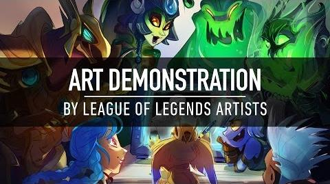 Art Demonstration by League of Legends Artists